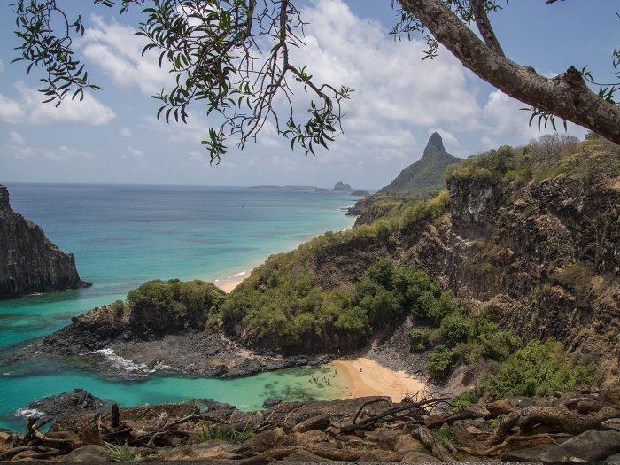für viele der schönste Strand der Insel Fernando de Noronha