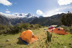 das schönste Camp am Huascaran