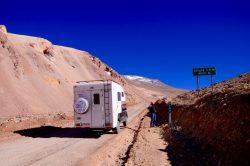 camper auf piste
