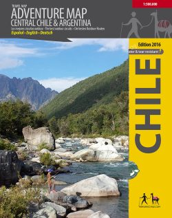Central Chile Adventure Map
