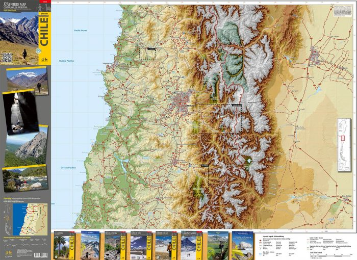 Adventure Map Central Chile