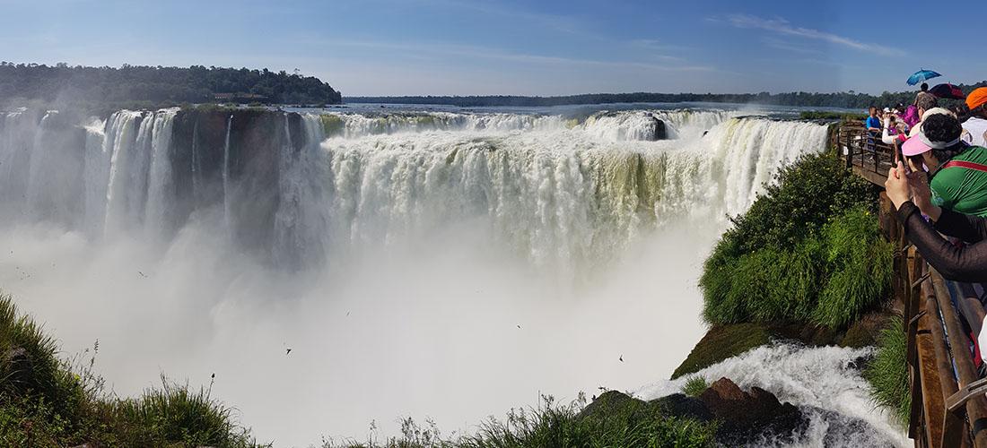Wasserfälle Foz de Iguazú