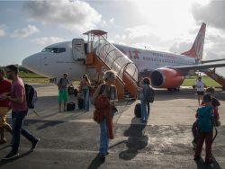 aeropuerto con avión
