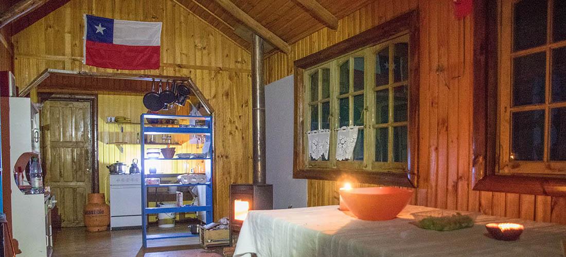 refugios de montaña sustentables